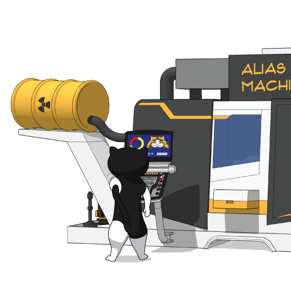 alias machine